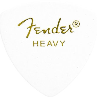 12 Count Tortoise Shell Fender 355 Shape Picks Heavy