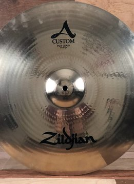 "Zildjian Zildjian 17"" A Custom Fast Crash - Mint"
