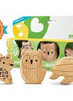 Green Tones Endangered Animal Shakers