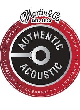 Martin Martin Authentic 80/20 Lifespan 2.0 Treated String Set, Medium 13-56