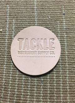 Tackle Instrument Supply Co Tackle Small Leather Bass Drum Beater Patch - Natural