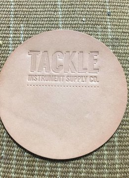 Tackle Instrument Supply Co Tackle Large Leather Bass Drum Beater Patch - Natural