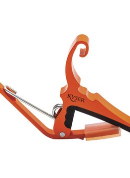 Kyser Kyser Quick Change 6 String Capo - Orange Blaze
