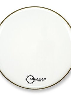 "Aquarian Aquarian 22"" Force Resonant Head, White"