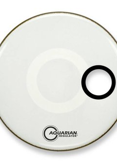 "Aquarian Aquarian 22"" Regulator Resonant Head, White - Coated"