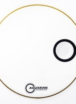 "Aquarian Aquarian 22"" Resonant Small Offset, Ported, White"