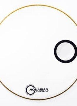 "Aquarian Aquarian 22"" Resonant Small Offset, Ported, White"