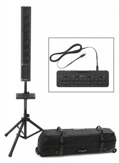 Fishman Fishman Fishman SA330x Portable PA Bundle, SA Expand Mixer, SA Deluxe Carry Bag