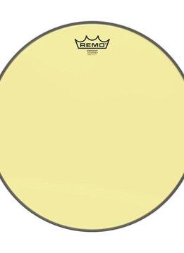 """Remo Remo 14"""" Emperor Clear Colortone, Yellow"""