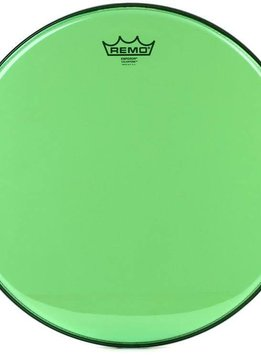 "Remo Remo 14"" Emperor Clear Colortone, Green"
