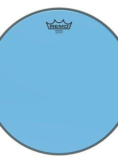 """Remo Remo 10"""" Emperor Clear Colortone, Blue"""