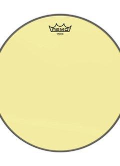 """Remo Remo 10"""" Emperor Clear Colortone, Yellow"""
