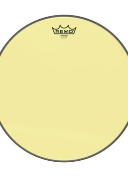 "Remo Remo 10"" Emperor Clear Colortone, Yellow"