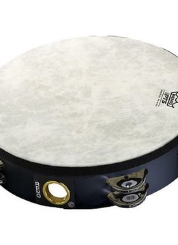 "Remo Remo 10"" Double Row Black Tambourine"