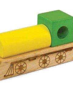 Green Tones Train Whistle - Green