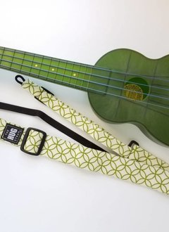 The Hug Strap All in One Hug Strap - Green Circles on Cream