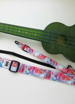 The Hug Strap All in One Hug Strap - Brushstrokes in Pink, Red, and Blue