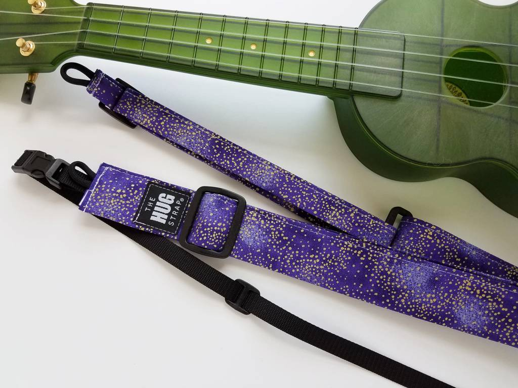 The Hug Strap All in One Hug Strap - Gold Dust on Purple