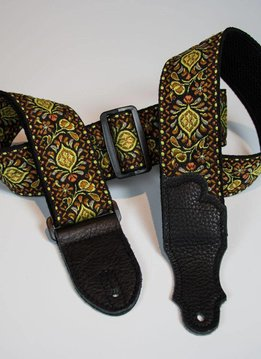 "Franklin 2"" Retro Folk Strap, Yellow"
