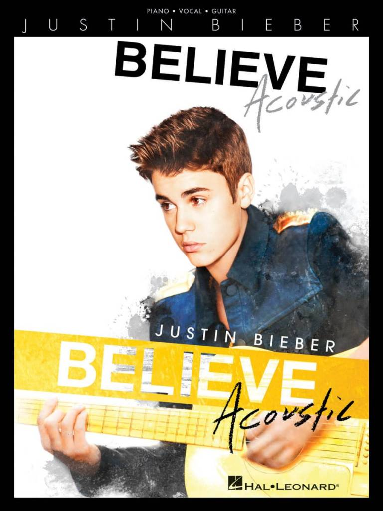 Hal Leonard Justin Bieber Believe Acoustic