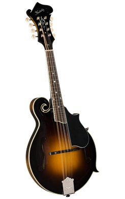 Kentucky KM-750 F-Style Mandolin,  All Solid Spruce and Maple,  Traditional Sunburst