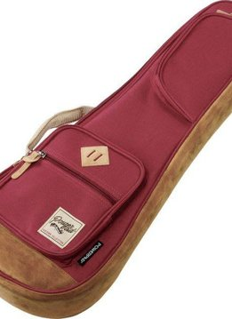 Ibanez Ibanez PowerPad 541 Concert Ukulele Bag,  Wine Red
