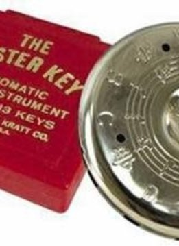 Kratt Master Key Chromatic Pitch Pipe