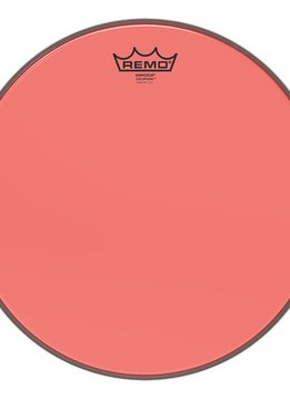 "Remo Remo 12"" Emperor Colortone, Red"
