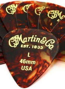 Martin Martin 12pk Picks Lt/Tortois