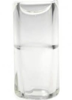 The Rock Slide- Small Glass Clear