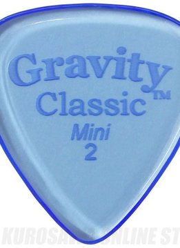 Gravity Pick Classic Mini 2.0 Jazz Polished