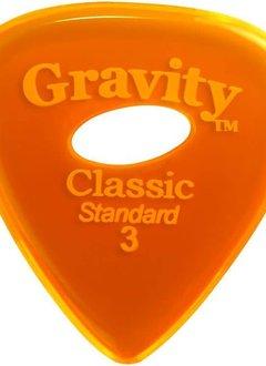 Gravity Pick Classic Std 3.0 Polished Ellipse Hole