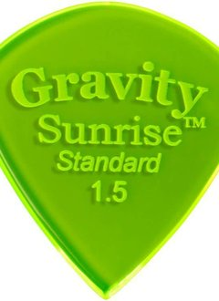 Gravity Pick Sunrise Std 1.5 Polished