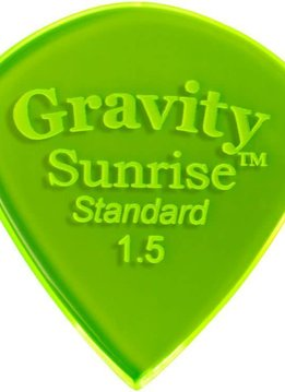 Gravity Pick Sunrise Std 1.5 Polished