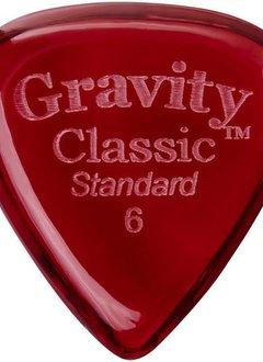 Gravity Pick Classic Std 6.0 Polished