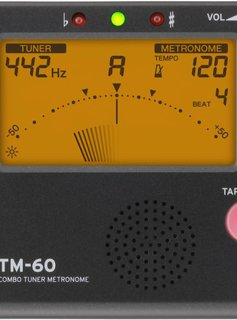 Korg TM-60 Chromatic Tuner/Metronome, Black