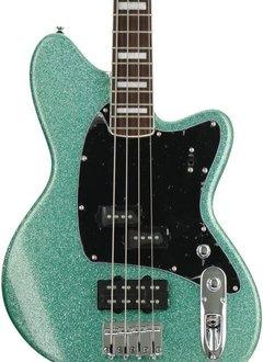 Ibanez Ibanez Talman TMB310 Electric Bass, Turquoise Sparkle