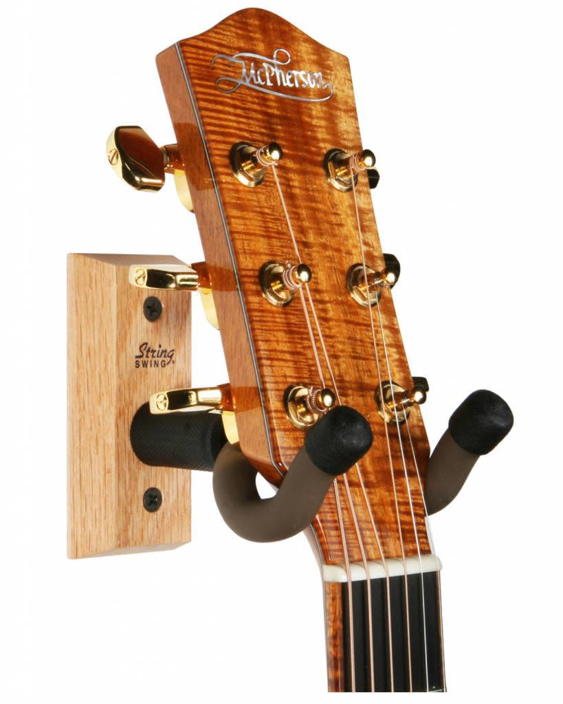String Swing Guitar Wall Keeper - Oak