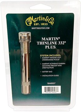 Martin Martin® Thinline 332® Plus Active Undersaddle Pickup