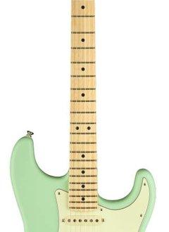 Fender Fender American Performer Stratocaster® HSS, Maple Fingerboard, Satin Surf Green