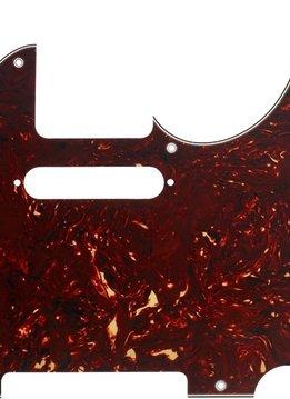 Fender Fender Pickguard, Telecaster® 8-Hole Mount, Tortoise Shell, 4-Ply