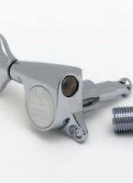 Gotoh Delta 3x3 Mini Chrome Tuners