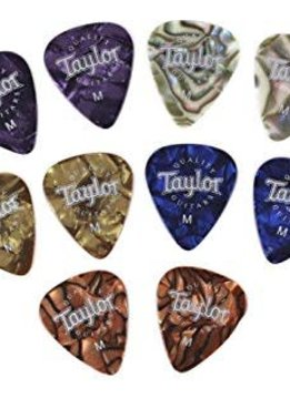 Taylor Taylor Assorted Marble Picks, Medium - 10pk