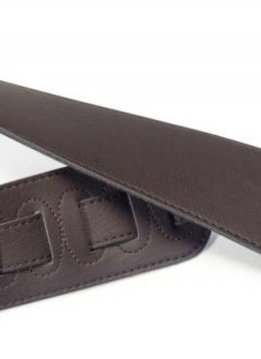 Stagg Suede-Style Strap Dark Brown