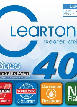 Cleartone Cleartone Treated Light 40 - 100 Bass Strings