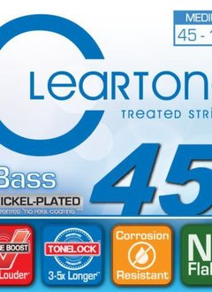 Cleartone Cleartone Treated Bass Strings Medium 45 - 105