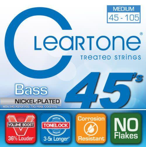 Cleartone Cleartone Treated Medium 45 - 105 Bass Strings