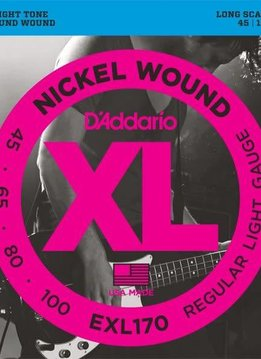 D'Addario D'Addario Nickel Bass 4 String Set, .045-.100