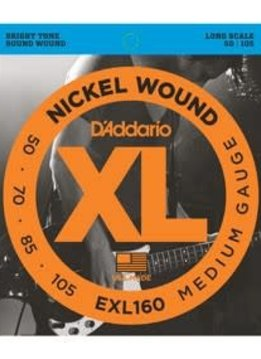 D'Addario D'Addario 4-String, Nickel, Medium, Long Scale, 50-105