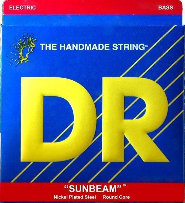 DR DR NMR-45 Sunbeam 4-string Bass Set, 45-105